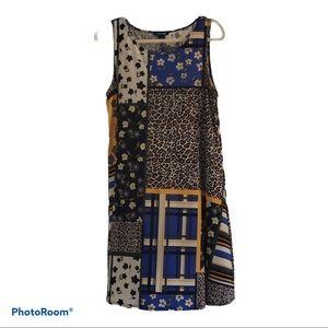 Roz & Ali size M women's leopard print dress